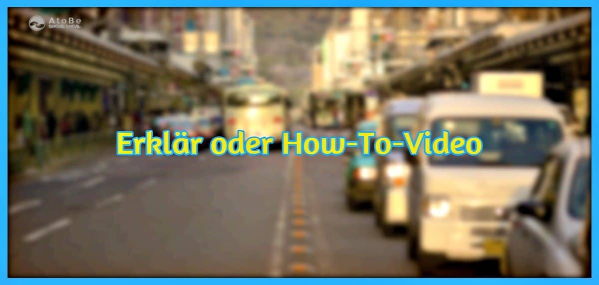 Erklär- oder How-To-Video