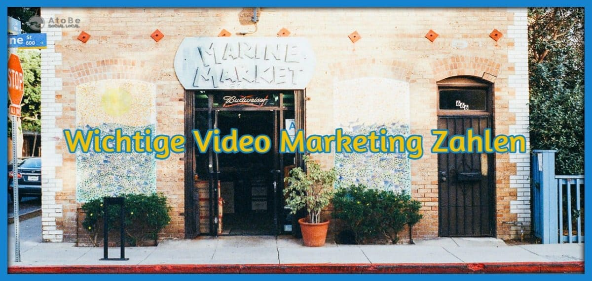 Wichtige Video Marketing Zahlen